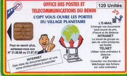 TARJETA TELEFONICA DE BENIN. (937) - Benin