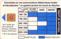TARJETA TELEFONICA DE BENIN. (938) - Benin