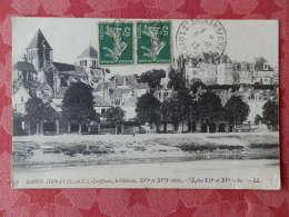 Dep 41 , Cpa SAINT AIGNAN , 5 , Les Quais ,  Le Chateau , L'église   (013) - Saint Aignan