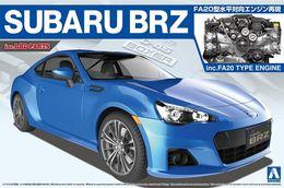 Subaru BRZ Inc. FA20 Type Engine ( Aoshima ) 1/24 - Cars