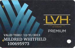 LVH / Las Vegas Hotel Casino - Las Vegas, NV - Premium Slot Card - Casino Cards