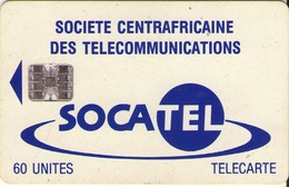 TARJETA TELEFONICA DE LA REPUBLICA CENTROAFRICANA. (830) - República Centroafricana