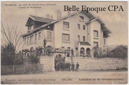 Suisse - JU - COURGENAY - Salle De Lecture Pour Militaires / OCCUPATION Des FRONTIÈRES +++ 1917 / Bataillon Feldpost - JU Jura
