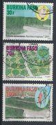 °°° BURKINA FASO - Y&T N°1384/86 - 2011 °°° - Burkina Faso (1984-...)