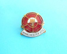 MANCHESTER UNITED FC - England Football Soccer Club Enamel Pin Badge By Coffer Fussball Anstecknadel Calcio British - Football