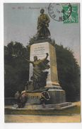 (RECTO / VERSO) METZ - N° 181 - MONUMENT DU POILU - CPA VOYAGEE - Metz