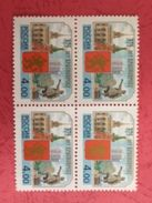 Russia 2003 Block 375Y Krasnoyarsk Geography Architecture Monument Places History Coat Of Arms Stamps MNH Mi 1093 - Architecture