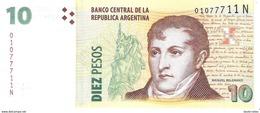 Argentina - Pick 354 - 10 Pesos 2002 - Unc - Argentine