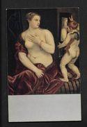 Nach Tizian Dresden Venus Der Amor - Nude Postcard Femme Nue  - CPA Peinture Tableau Illustrateur - Pintura & Cuadros