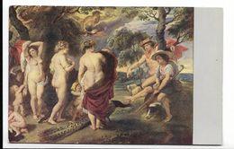 Rubens  Dresden Das Urteil Des Paris - Nude Postcard Femme Nue  - CPA Peinture Tableau Illustrateur - Pintura & Cuadros