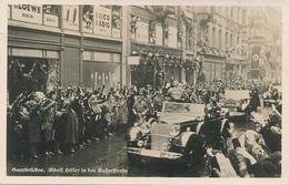 SAARBRÜCKEN - 1935 , Adolf H... In Der Kaiserstrasse - Hommes Politiques & Militaires