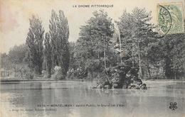 Montélimar - Le Jardin Public, Le Grand Jet D'eau - Edition C. Artige Fils - Carte M.T.I.L. N° 2379 - Montelimar