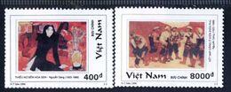 Vietnam Viet Nam MNH Perf Stamps 1996 : Vietnamese Art Paintings (Ms740) - Vietnam