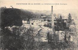 24 CORGNAC SUR L'ISLE PAPETERIE DE LA ROCHE - France