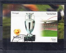 PORTUGAL 2004. FINAL COUPE UEFA  EURO 2004 OBLITÉRÉ  AFINSA N1 3149. CECI 2 Nº 105 - 1910-... República