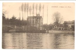 53 Changé . L'Eglise Et Le Pont - Altri Comuni