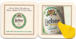 #D166-260 Viltje Licher - Beer Mats