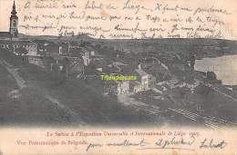 CPA LA SERBIE A L'EXPOSITION UNIVERSELLE ET INTERNATIONALE DE LIEGE 1905 VUE PANORAMIQUE DE BELGRADE - Serbie