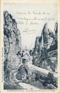Barbières (Drôme) - Le Rocher Des Sarazins Et Le Village - Edition Reynier, Photo Paul Boyer - Other Municipalities