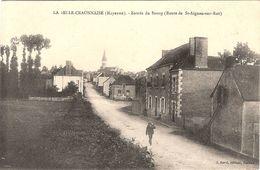 CPA La Belle Craonnaise Entrée Du Bourg 53 Mayenne Route De St Aignan Saint Sur Roë - Autres Communes