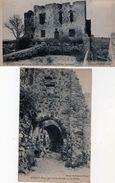 [83] Var > Non Classés Evenos Les Ruines Lot De 2 Cartes - Zonder Classificatie
