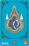 TÉLÉCARTE PHONECARD TARJETAS THAILANDE NOO ET ORANGE CARTE A CODE - Thaïlande