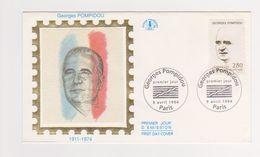 Enveloppe 1er Jour   / Georges Pompidou / Paris / 9-4-94 - FDC