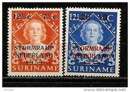 Surinam 1953 Flood Relief Set Complete MNH ** - Surinam ... - 1975