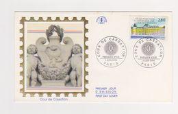 Enveloppe 1er Jour   / Cours De Cassation   / Paris   / 3-6-94 - FDC
