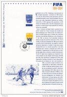""""""" 100 ANS DE LA FIFA """" Sur  Document Philatélique Officiel De 2004 (Prix à La Poste = 5.00 €) : N° YT 3671. DPO - Fútbol"""