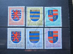 VEND BEAUX TIMBRES DU LUXEMBOURG N° 534 - 539 , X !!! - Luxembourg