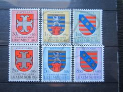 VEND BEAUX TIMBRES DU LUXEMBOURG N° 553 - 558 , X !!! - Luxembourg