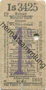 England - London - The London General Omnibus Co. Lo. - Ticket - Fahrschein - Trenes