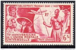Inde P.A. N° 21 XX  75ème Anniversire De L'U.P.U.  Sans Charnière, TB - India (1892-1954)