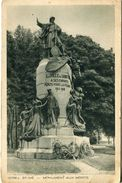 G27 / CPA SAINT DIE MONUMENT AUX MORTS   VOYAGEE - Saint Die