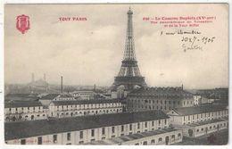 75 - PARIS 15 - La Caserne Dupleix - Vue Panoramique Du Trocadéro Et De La Tour Eiffel - Tout Paris Fleury 630 - Paris (15)