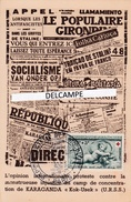 GUERRE D'ESPAGNE - Antifascistes - Protestation Contre Camp De Concentration Russe De KARAGANDA - Sonstige