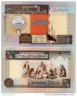 KUWAIT       ¼ Dinar       P-23[h]       L. 1968 (ca. 2013)       UNC  [Sign. 16] - Quarter - Kuwait