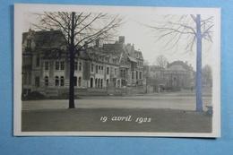 Carte Photo Bruxelles 19 Avril 1925 - Petits Métiers