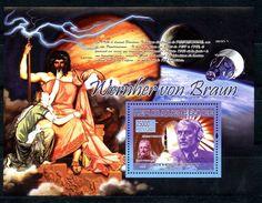 GUINEA 2007 G0006 COSMOS. Wernher Von Braun - Space