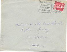 Daguin Bourbon-lancy - Marcophilie (Lettres)