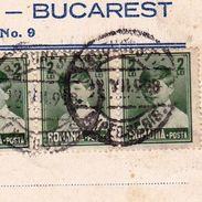 Carte Postale Bucarest Roumanie 1928 Oscar Gerscovici Wildberger Suisse Zurich București România - Roemenië