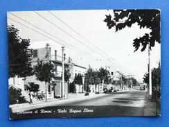 Cartolina Bellariva Di Rimini - Viale Regina Elena - 1960 Ca. - Rimini