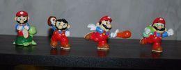 Lot De 4 Figurines Mario Nitendo Détail Dans L'annonce - Video Games