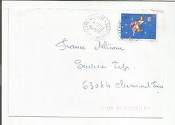 OBLITERATION MANUELLE DE LE PUY VAL-VERT HAUTE LOIRE 1992 - Marcophilie (Lettres)