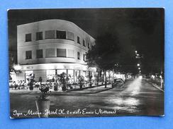 Cartolina Igea Marina - Hotel K. 2 E Viale Ennio - Notturno - 1959 - Rimini