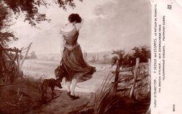 Salon D' Hiver 1914 - P. Sezille Des Essarts - Le Retour De Perrette - Schilderijen