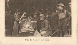 With The A E F In FRANCE War Service Armée Américaine En France - Guerre 14/18 - Guerra 1914-18