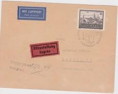ALLEMAGNE 1944 LETTRE DE CRACOVIE GENERAL GOUVERNEMENT (SANS GARANTIE) - Ocupación 1938 – 45