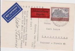 ALLEMAGNE 1943 CARTE POSTALE DE CRACOVIE   GENERAL GOUVERNEMENT (SANS GARANTIE) - Occupation 1938-45